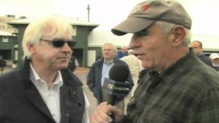 Nick Zito Interviews Bob Baffert at Pimlico