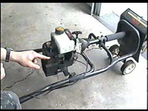 HOW TO ADJUST The Carburetor on Ryobi 2 Cycle Cultivator