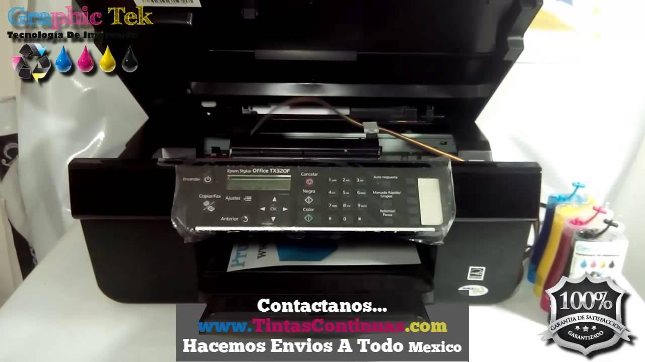Impresora Epson Tx420w en Impresora Epson Tx320f