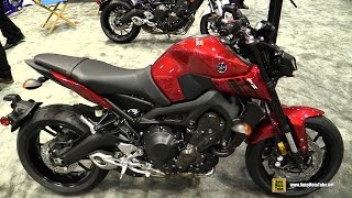 2017 Yamaha FZ09 - Walkaround - Debut at 2016 AIMExpo Orlando
