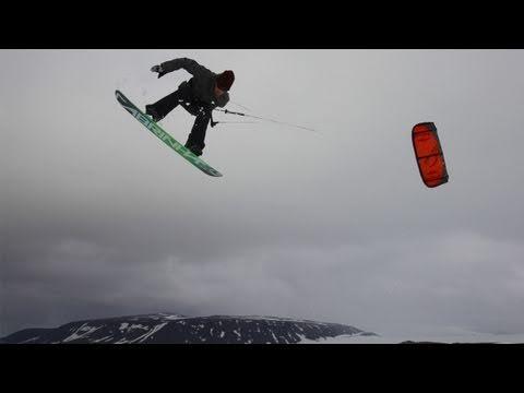 Snowkiting Iceland