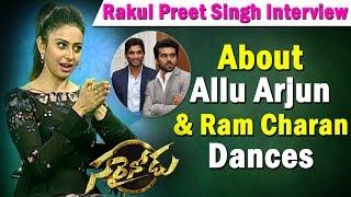 rakul-preet-singh-goes-silent-on-allu-arjun-ram-charan-dances-sarrainodu-ntv
