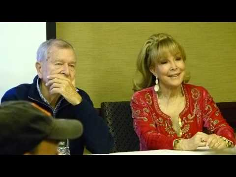 Barbara Eden/Bill Daily Q & A Part One SuperMegaFest November 2013