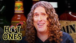 """Weird Al"" Yankovic Goes Beyond Insanity While Eating Spicy Wings 