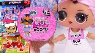 Day 12 ! LOL Surprise - Playmobil - Schleich Animals Christmas Advent Calendar - Cookie Swirl C