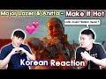 🔥(ENG) KOREAN Rappers  React To Major Lazer & Anitta   Make It Hot🔥