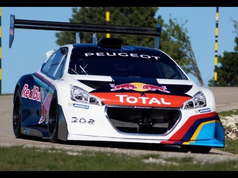 Sébastien Loeb 208 T16 Pikes Peak TEST Mont-Ventoux 2013 hightlights HD