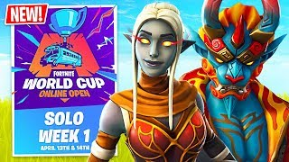 Fortnite WORLD CUP QUALIFIER $1,000,000 Tournament! (Fortnite Battle Royale)