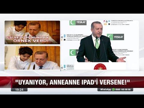 Erdoğan'dan 'Teknoloji' uyarısı - 27 Kasım 2017