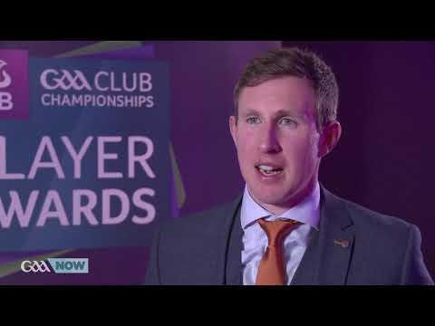 Gary Sice at the AIB GAA Club Player Awards - GAANOW