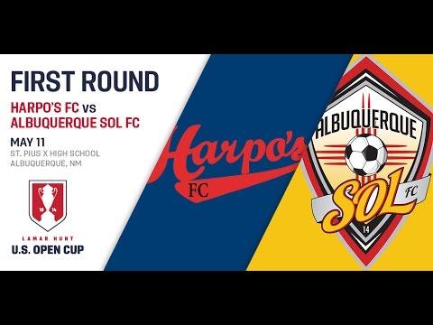2016 Lamar Hunt U.S. Open Cup - First Round: Albuquerque Sol FC vs. Harpo's FC