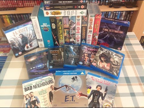 My Blu Ray, DVD, & VHS Carboot Pickups Part 1 June 4th 2017 streaming vf