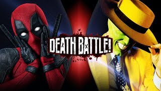 Deadpool VS Mask (Marvel VS Dark Horse) | DEATH BATTLE!