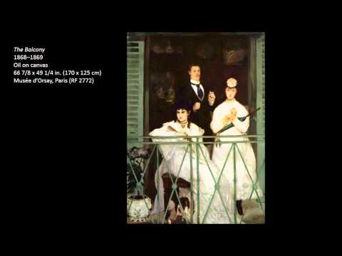 Manet, Edouard Part One 3/3 Art Lecture by dr. christian conrad