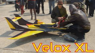 Radio Controled Jet Airplane  Velox XL