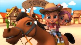 Yankee Doodle | Nursery Rhymes | Kindergarten | Songs For Kids | Cartoons by Little Treehouse