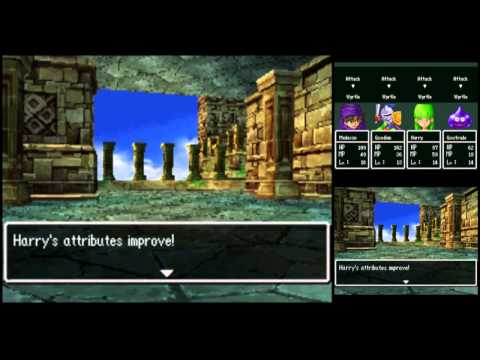 Dragon Quest V [DS] Commentary #032, Abovitall Tower: Ra's Mirror