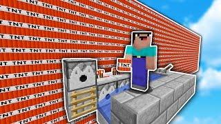 The BIGGEST TNT NOOBs EVER!... | Minecraft TNT WARS