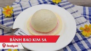 Hướng dẫn cách làm bánh bao kim sa - Kimsa Dumling