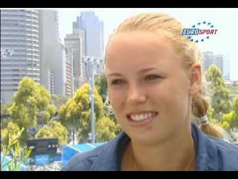 Caroline Wozniacki Interview Australian Open