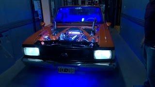 ¡Escuchá el rugido de un Ford Falcon tuneado!