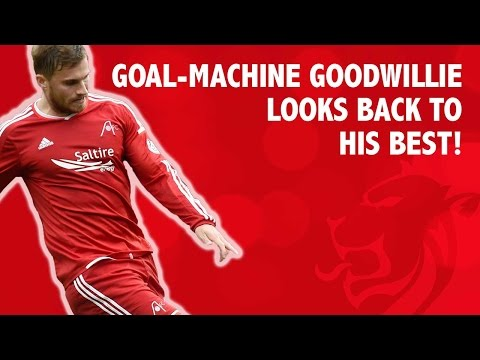 Goal-machine Goodwillie looks back to his best!