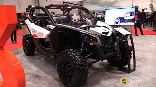 2017 Can Am Maverick X3 X DS Turbo S Side by Side ATV - Walkaround - 2017 Toronto Motorcycle Show