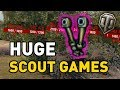 World of Tanks || HUGE SCOUT GAMES!