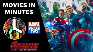 Avengers: Age of Ultron in 4 minutes - (Marvel Phase Two Recap)