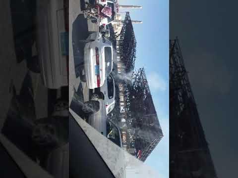 فيديو: قصف طيران التحالف العربي لمنصة ميدان السبعين الرئيسية بصنعاء وحجم الأضرار الناجمة
