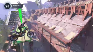 Trials fusion game play