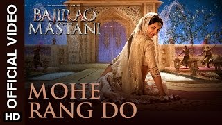 Mohe Rang Do Laal (Official Video Song) | Bajirao Mastani | Ranveer Singh & Deepika Padukone