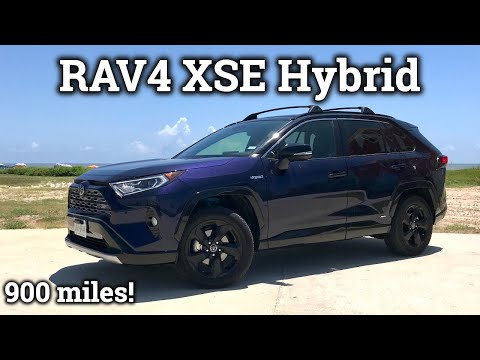Real World 2019 Toyota RAV4 XSE Hybrid Road Trip Review!