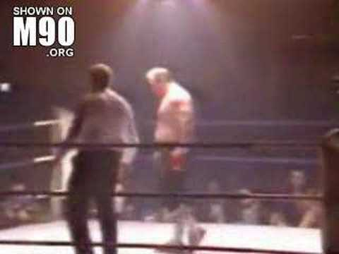 Lenny Mclean unlicensed boxing Image 1