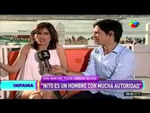 Milone habló del miembro de Nito Artaza: La sigue teniendo preciosa