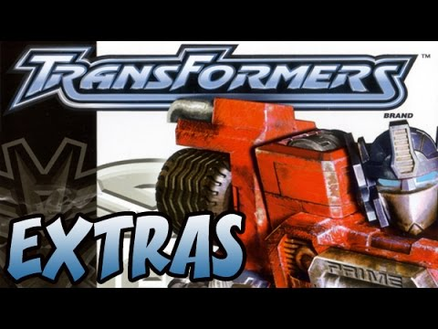 Let's Play Transformers! (PS2) Playthrough Part 13 - Extras