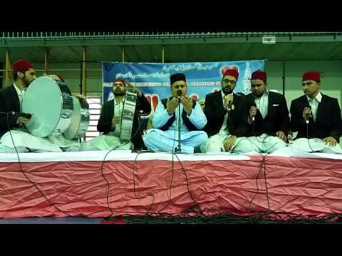 Urdu Hamd Tere Shan Jalla Jala Lahoo 12 Rabi Ul Awal 2015 By Qadeer Ahmed Khan video