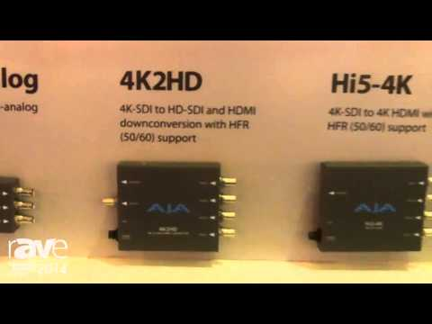 ISE 2014: AJA Talks About Mini Converters Including 4K to HD Converters, Hi5-4K and ROI