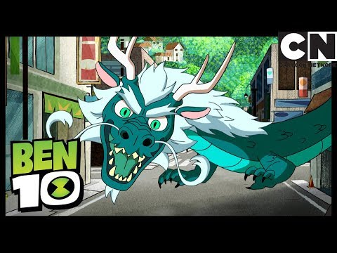 Ben 10 | Fighting the Dragon | Big in Japan | Cartoon Network