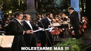 Los 3 Tenores Funiculì Funiculà Subtitulada Español Hd Los Ángeles 1994