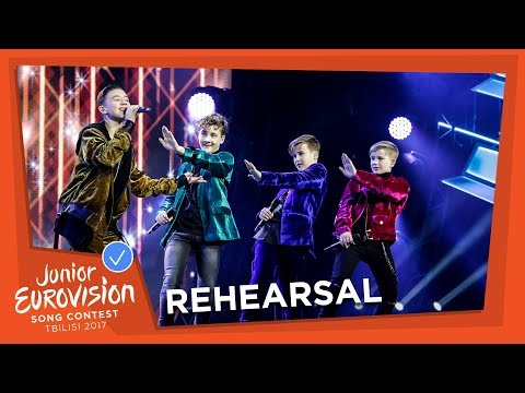 THE NETHERLANDS - REHEARSAL - FOURCE - LOVE ME - EXCLUSIVE FOOTAGE
