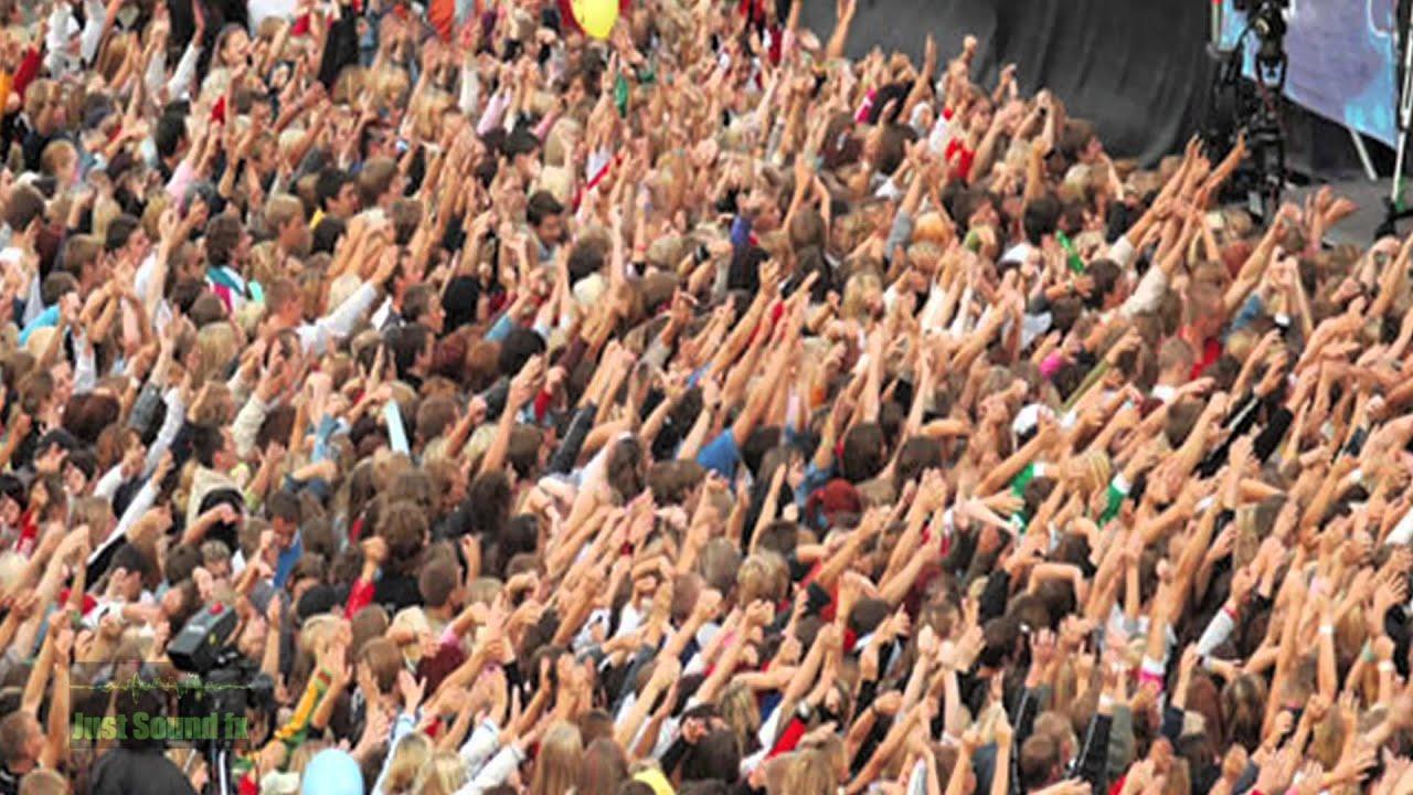crowd cheering sound youtube
