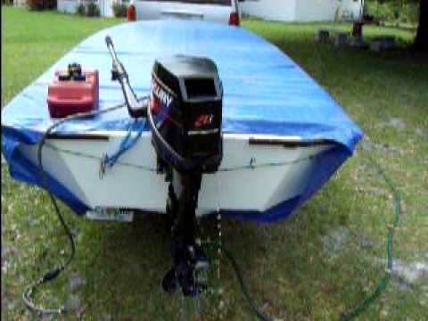 Mercury 20 hp outboard 4 sale