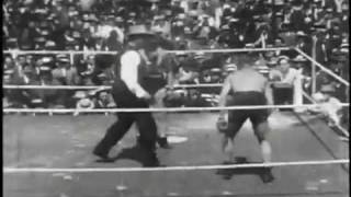 Tommy Burns vs Bill Squires - July 4, 1907