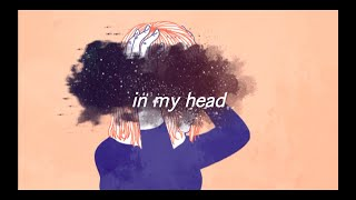 Ariana Grande- in my head (lyric video)