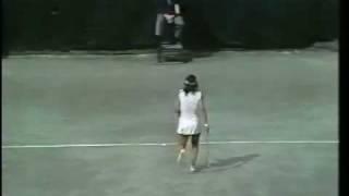 Rosie Casals vs Betsy Nagelsen 1977 US Open 1st Round