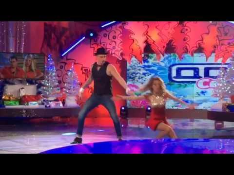 Танец кузина на конкурсе