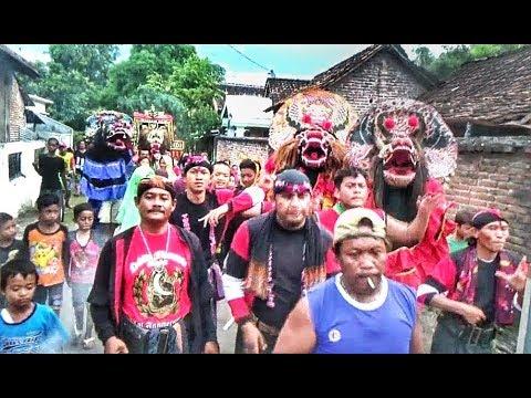 Jaranan TURONGGO WILIS  Pentas Kliteran Keliling Kampung SEKARAN LOCERET
