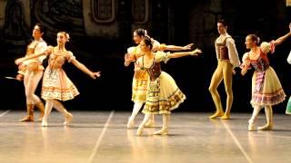 Ensayo de Coppélia del Ballet del Sodre