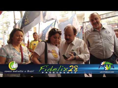 As ruas dizem: O povo quer Fidelix para o Brasil Mudar